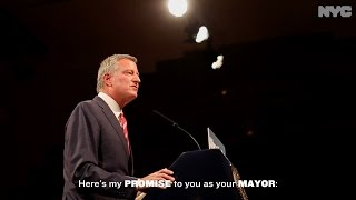 NYC Mayor Bill de Blasio's Promise to ALL New Yorkers #AlwaysNYC