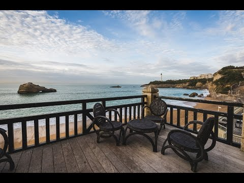 Miramar, KEYWEEK - 3 Bedroom Vacation Rental with Ocean Views in BIARRITZ, South West of France
