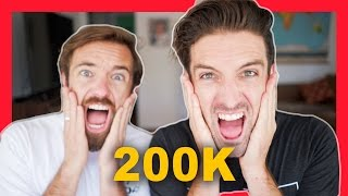 WE LOVE YOU! | TWO HUNDRED THOUSAND SUBSCRIBERS!