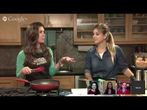 The Biggest Loser Weekly Google+ Hangout With Chef Devin Alexander