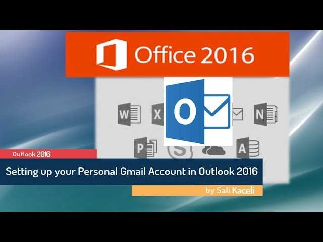 Microsoft Outlook 2016 Tutorials