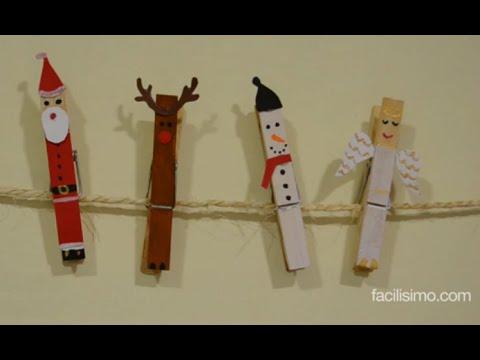 C mo hacer adornos navide os con pinzas - Como realizar adornos navidenos ...