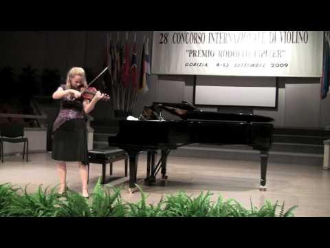 Rosalie Macmillan - Bach Chaconne Part 2 (HD)