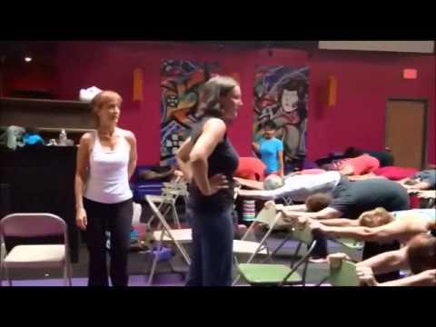 Yoga for Seniors with Carol Krucoff and Kimberly Carson