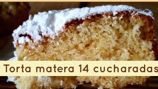 #BIZCOCHO 14 🥄CUCHARADAS|En 1 MIN| FÁCIL, ECONÓMICO Y DELICIOSO|