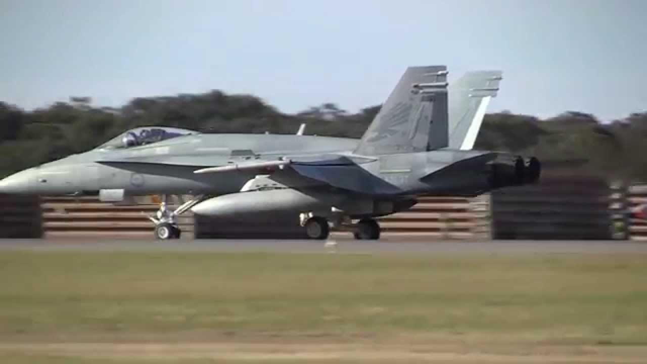 F18 Hornet & F111 Speed Run
