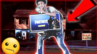 Playing FORTNITE At Stranger's House! *Fortnite Funny Moments!!😂