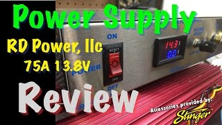 RD Power 75A 12V Power Supply Review 1kW-12