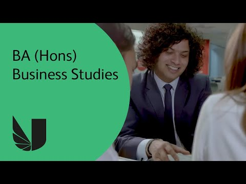 BA (Hons) Business Studies at the University of West London
