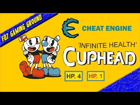 CUPHEAD - Hack Infinite Life With CHEAT ENGINE