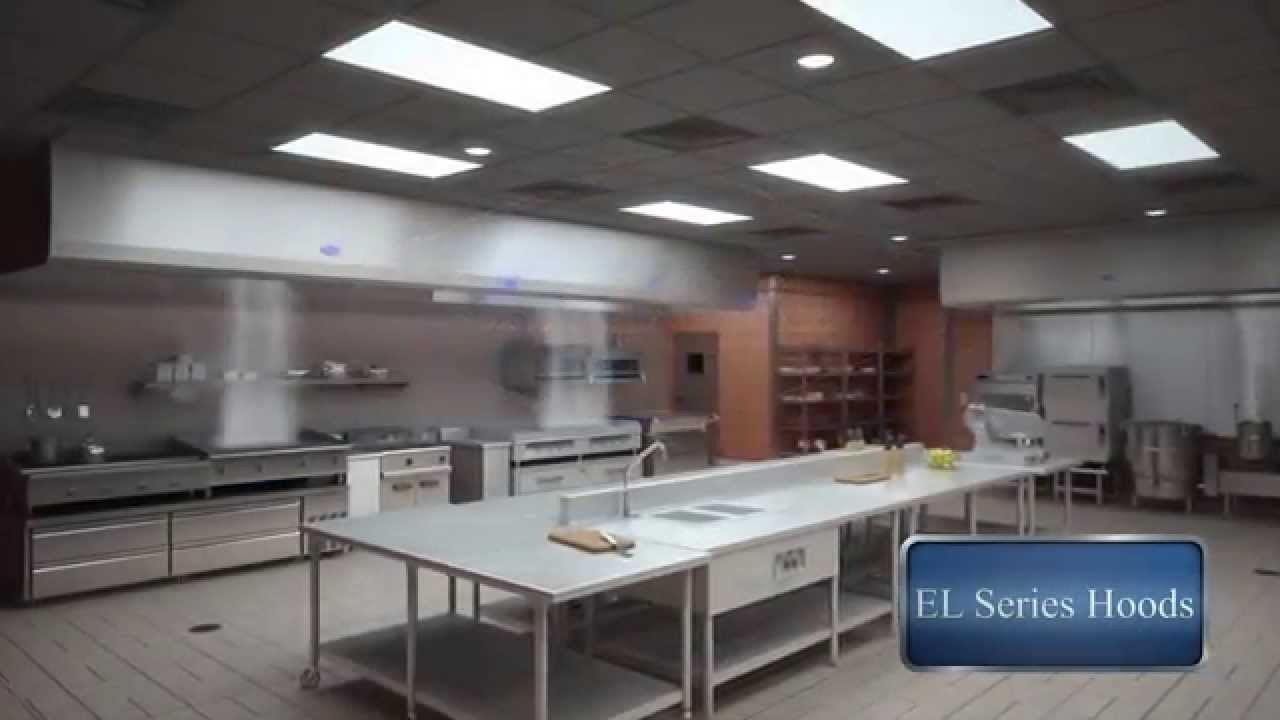 Superior Gaylord Kitchen Hoods #4: Gaylord Industries EL Series Commercial Kitchen Ventilation - YouTube