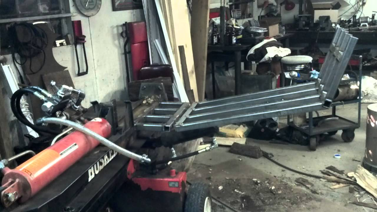 Homemade Log Lift Tipover Doovi