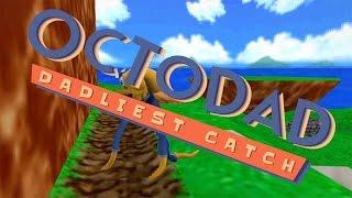 Octodad Dadliest Catch: Un pulpo en Mario 64 y Zombies!!