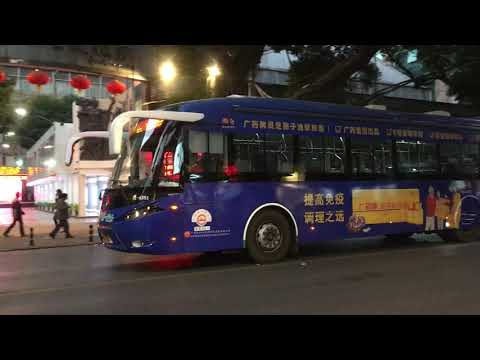 Guangzhou Public Transport BYD Electric Bus On Route 10