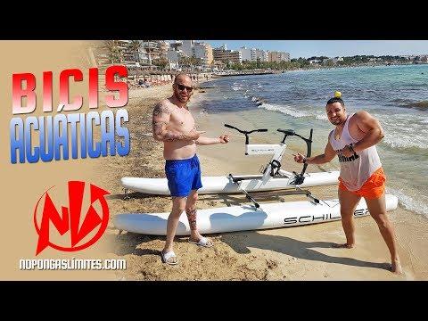 (Vídeo) Las mejores bicis acuáticas (Water Bikes) llegan a Mallorca