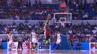 Rafi Reavis' huge block seals the win for the Magnolia Hotshots | PBA Philippine Cup 2018