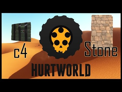 Hurtworld - C4 Testing: Stone