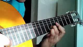 Свободная гитара. Кубинский танец