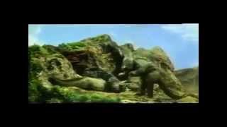怪獣島の決戦 コジラの息子 ゴジラ ミニラ 前田美波里 高島忠夫   from YouTube by Offliberty2