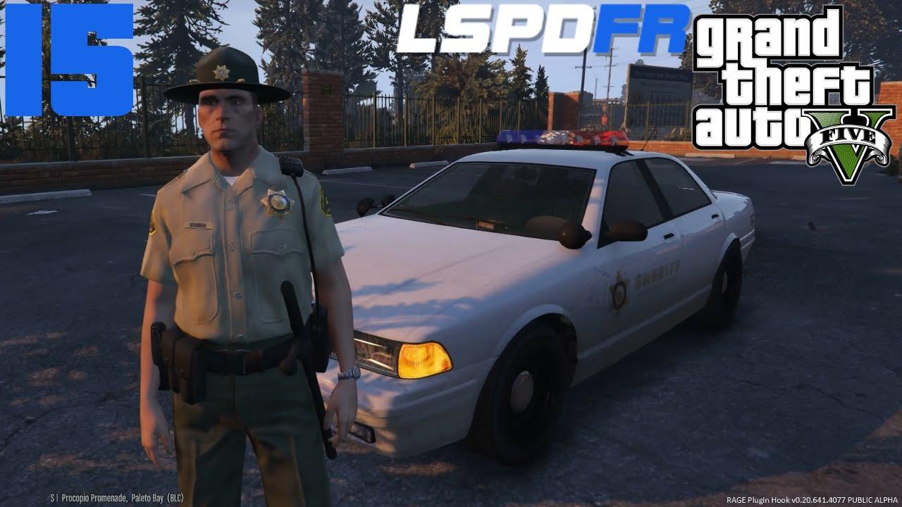 GTA V - LSPDFR #015   Der Sheriff im County [Deutsch] [HD]