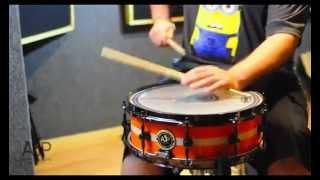 "Juan ""Carlito"" Mendoza reviews AJP Drums"