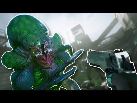 ALIENS INVADE! - Earthfall Gameplay - Left  Dead  style Survival Game!