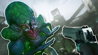 ALIENS INVADE! - Earthfall Gameplay - Left 4 Dead 2 style Survival Game!