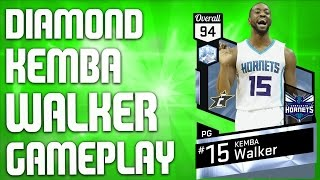 Nba 2k17 myteam gameplay - diamond kemba walker gameplay - my best squad