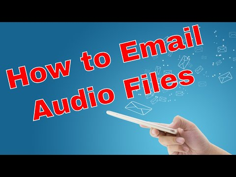 How to Email Audio Files