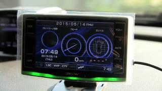 コムテック レーダー探知機 ZERO74V 女性ボイス2 thumbnail