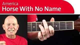 America - Horse with No Name Guitar Lesson & Chords Part 2