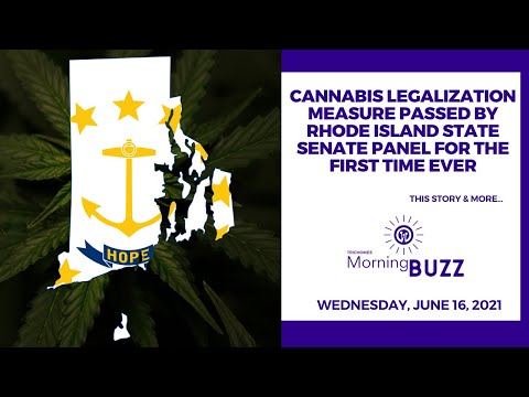 Cannabis Legalization Measure Passed By Rhode Island State Senate Panel For The First Time Ever