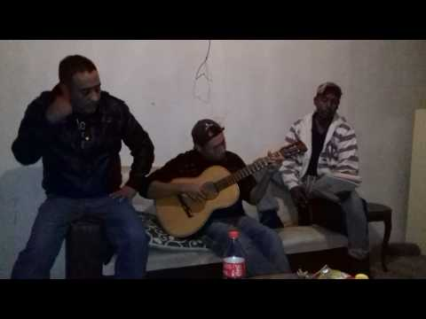 Sandovales E Invitados Con Santana.