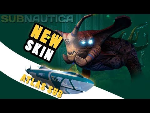 Subnautica - NEW SEA EMPEROR SKIN / MODEL & ANIMATIONS, ATLAS SUBMARINE - Update Gameplay