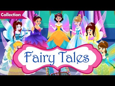 Fairy Tales in English | Nine Stories For Kids | Cinderella | Rapunzel | Snow White Princess Story
