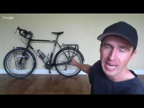 Bicycle Touring Basics - How To Pack Your Bicycle & Carry Yo
