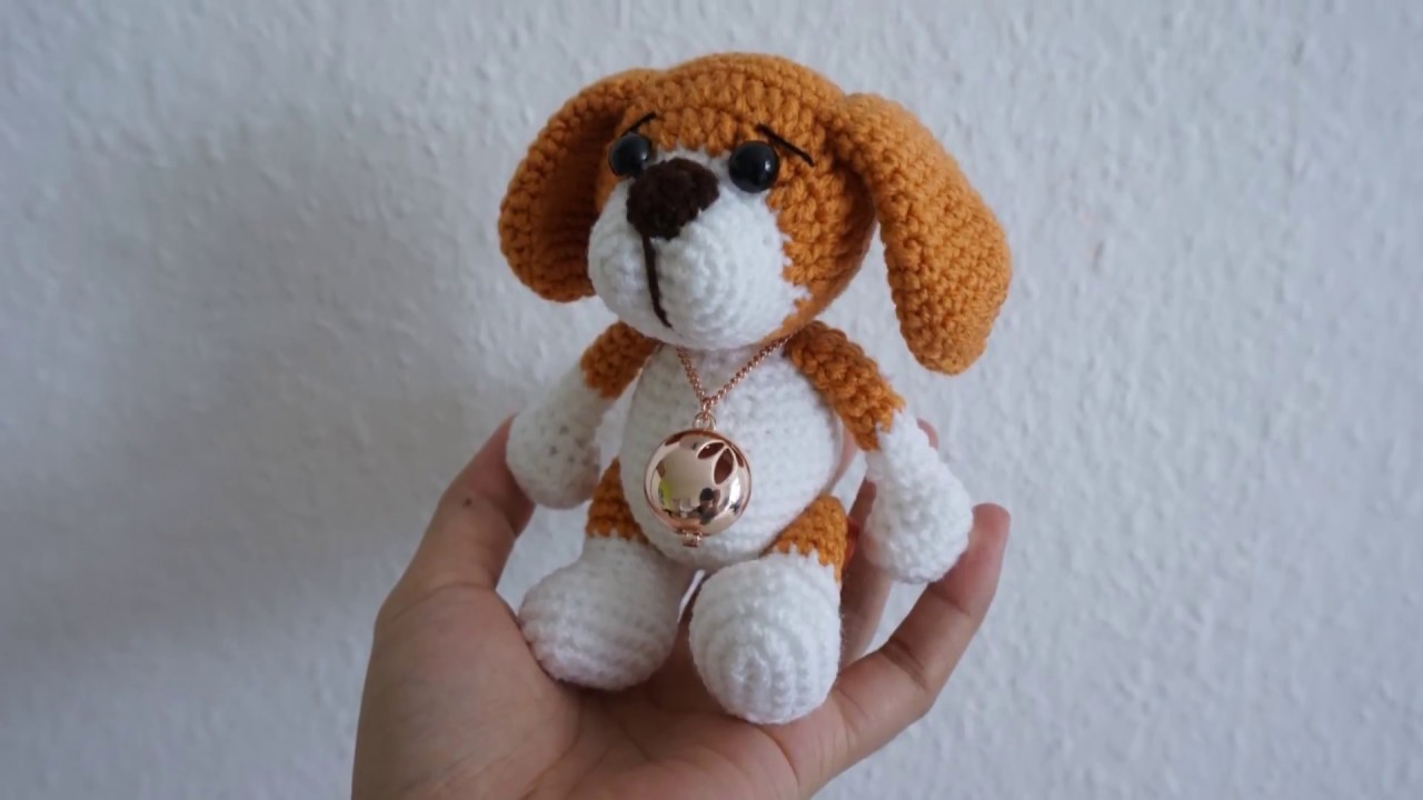 Little Puppy Crochet Pattern Youtube