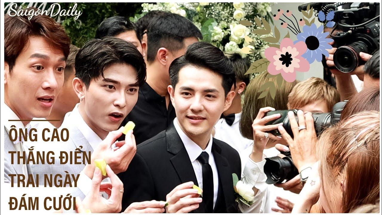 Toàn cảnh Ông Cao Thắng đến rước Đông Nhi ngày lễ cưới bị bắt ăn chanh cực dễ thương