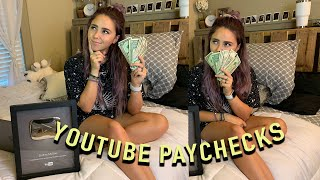 Getting MONETIZED in 2019 & YOUTUBE PAYCHECKS