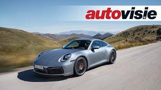 Porsche 992 911 - Test - Autovisie TV