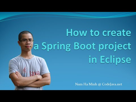 How to Create A Spring Boot Project in Eclipse