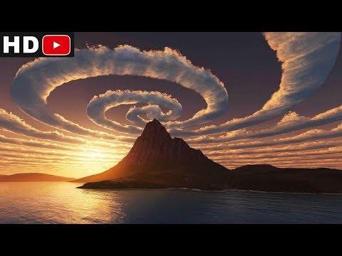 спираль в небе в австралии / Мистика или нет?
