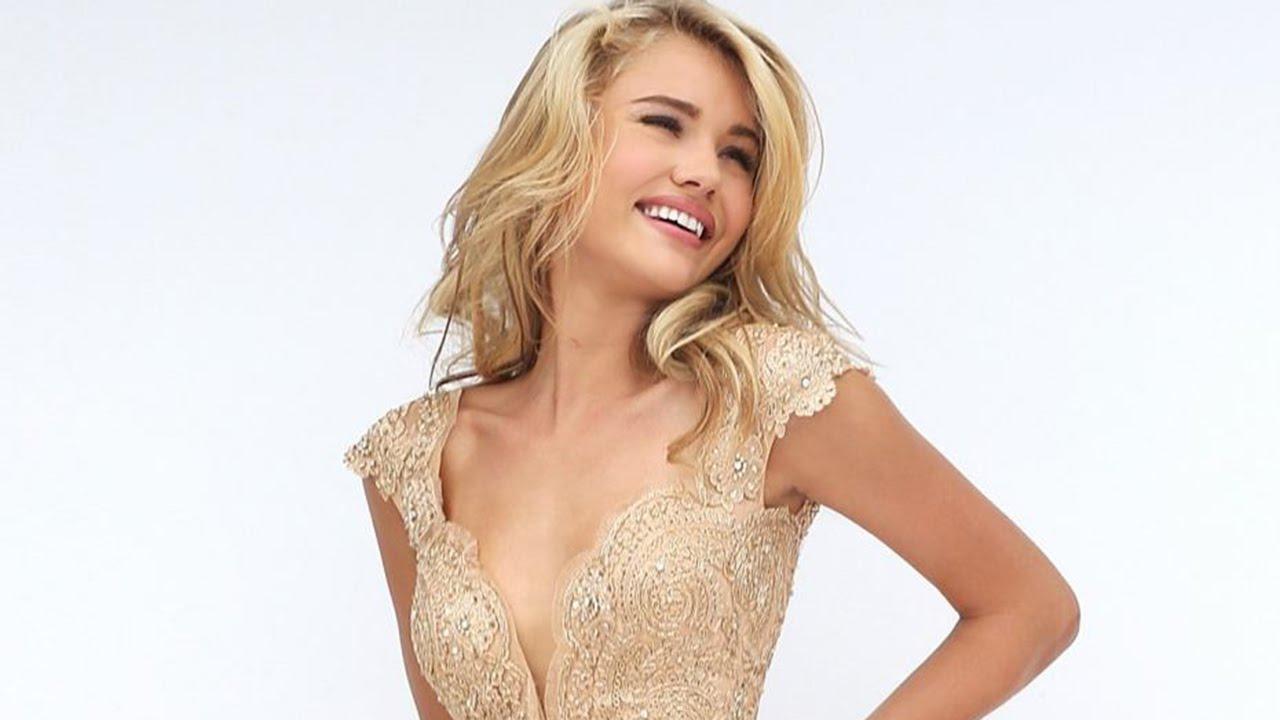 f1549e117925 Sherri Hill 50176 Prom Dress - YouTube
