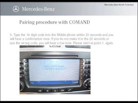 How to connect your phone to your mercedes benz rybrook for How to connect phone to mercedes benz