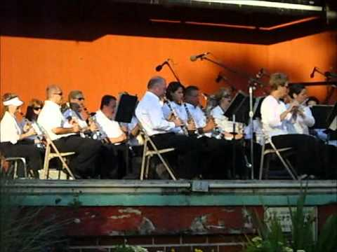 Lakewood Ohio Hometown Band in the park concert