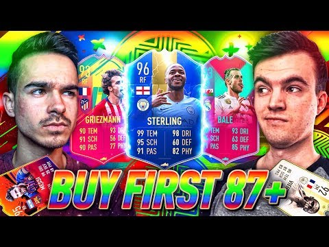 FIFA 19 : STERLING 96 TOTS BUY FIRST SPECIAL CARD !!  😱🔥