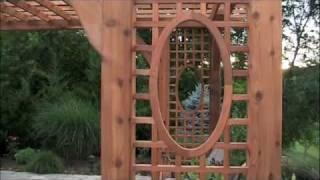 Baldwin Pergolas Creates Poolside Pergola