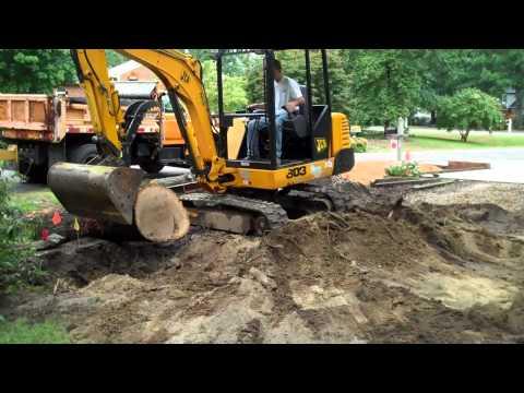 Mini Excavator JCB 803