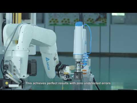 Delta Product - 【Energy Management】Delta Industrial Robots