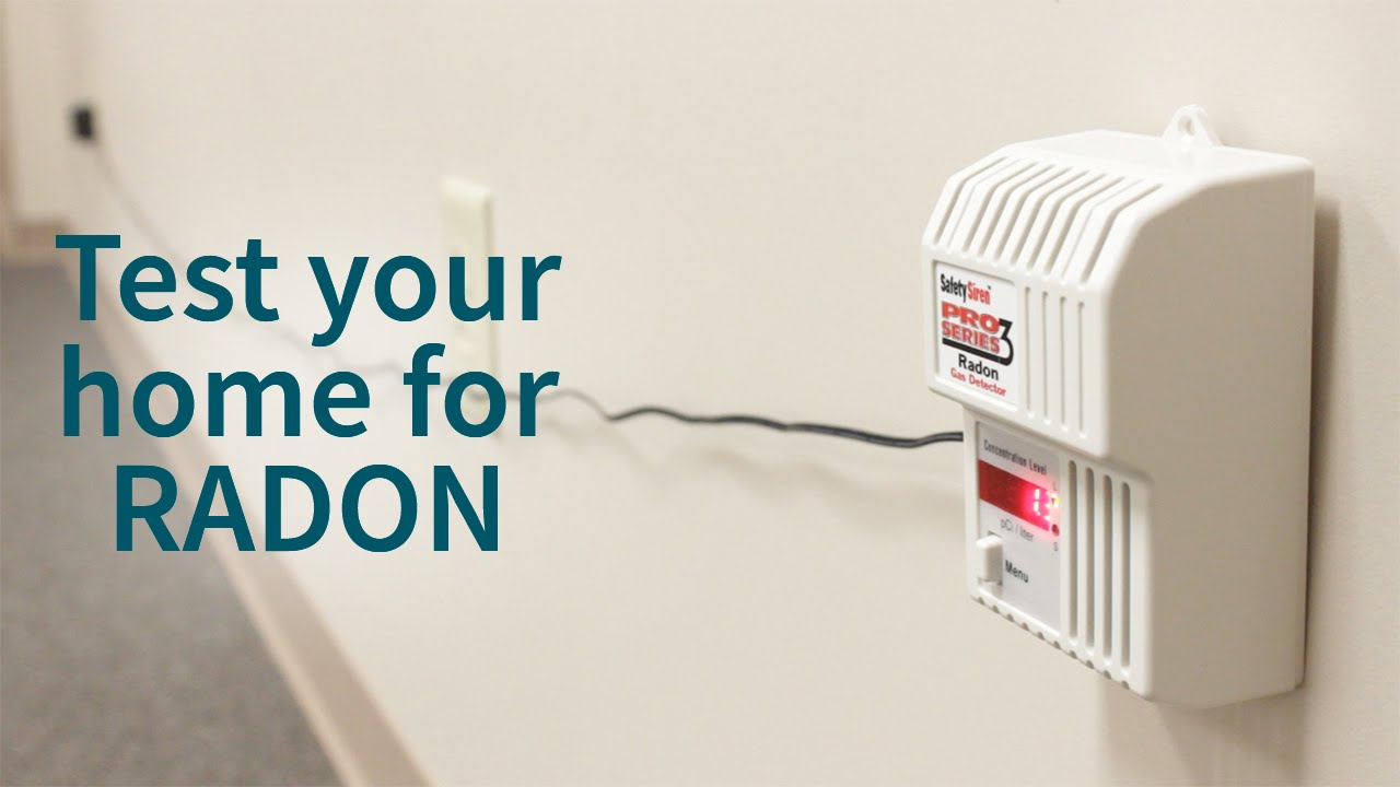 Radon Home Depot Detector